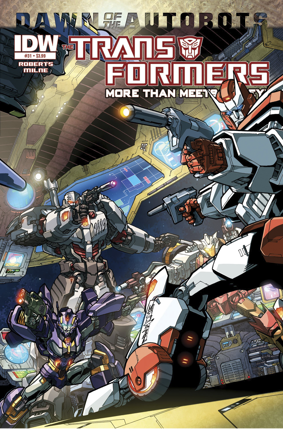 TRANSFORMERS MORE THAN MEETS EYE #31 DAWN O/T AUTOBOTS