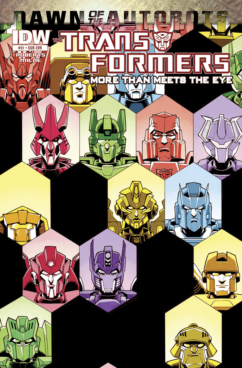 TRANSFORMERS MORE THAN MEETS EYE #31 SUBSCRIPTION VAR