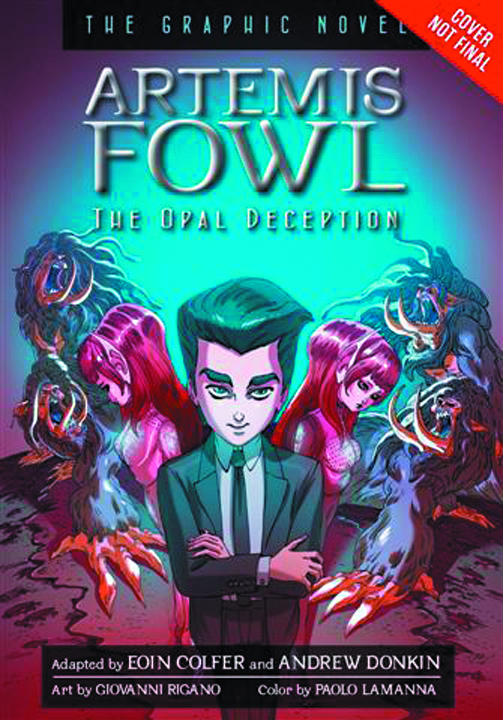 ARTEMIS FOWL HC GN VOL 04 OPAL DECEPTION