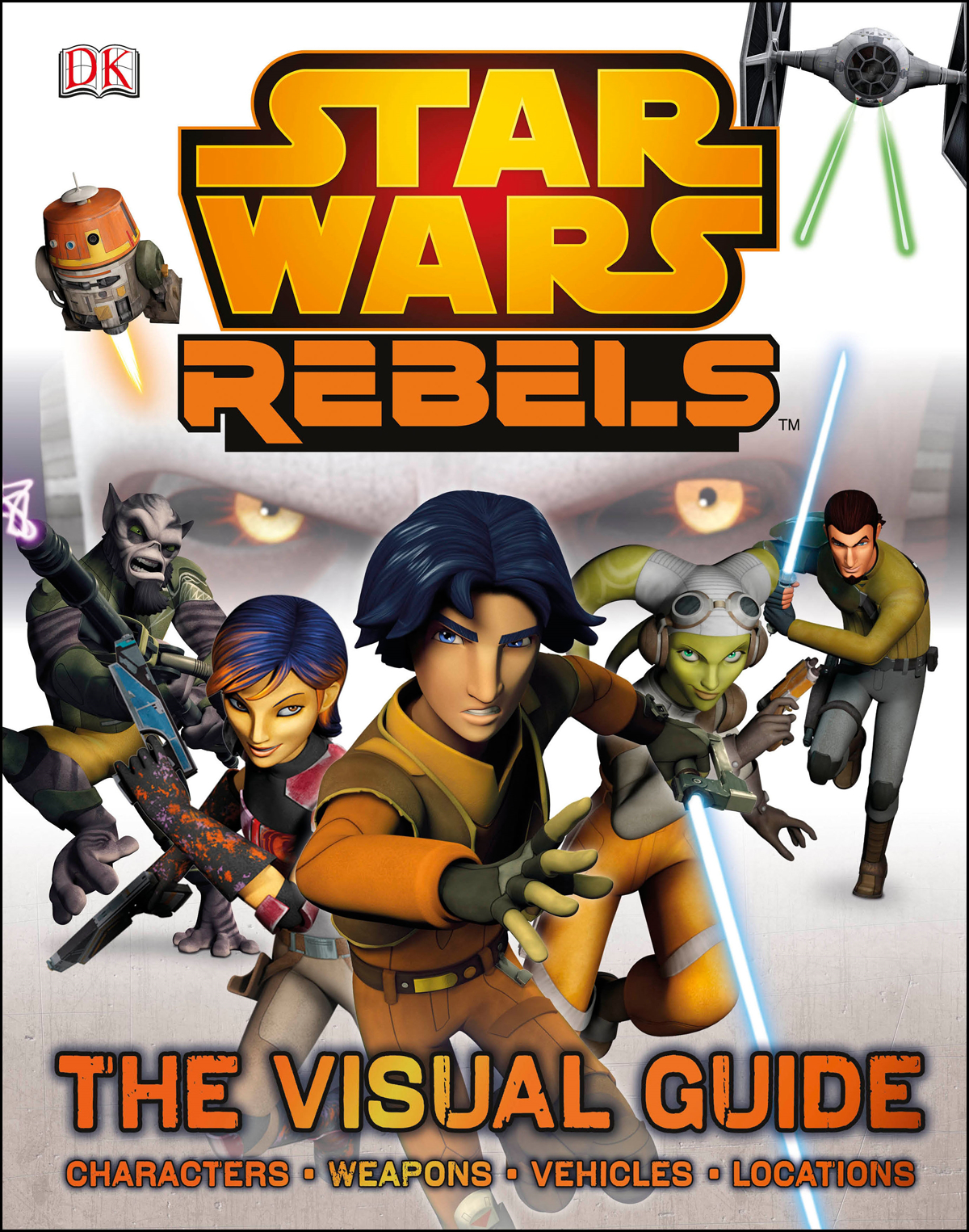 STAR WARS REBELS VISUAL GUIDE HC