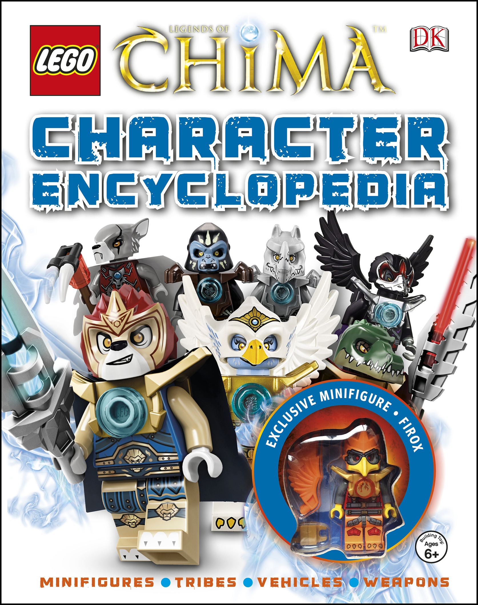 LEGO LEGENDS OF CHIMA CHARACTER ENCYCLOPEDIA HC
