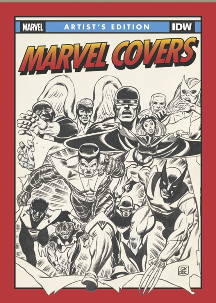 MARVEL COVERS ARTIST ED HC