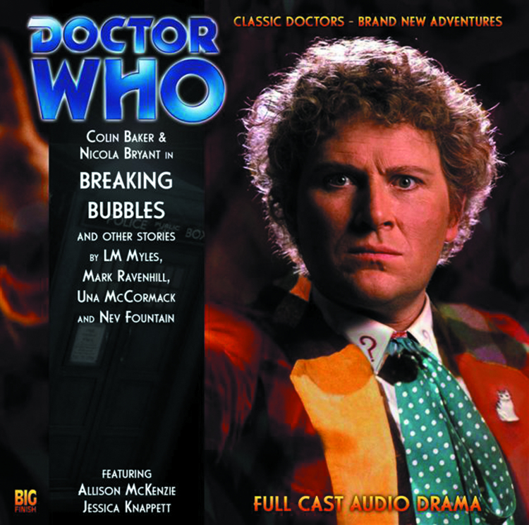 DOCTOR WHO BREAKING BUBBLES & OTHER STORIES AUDIO CD