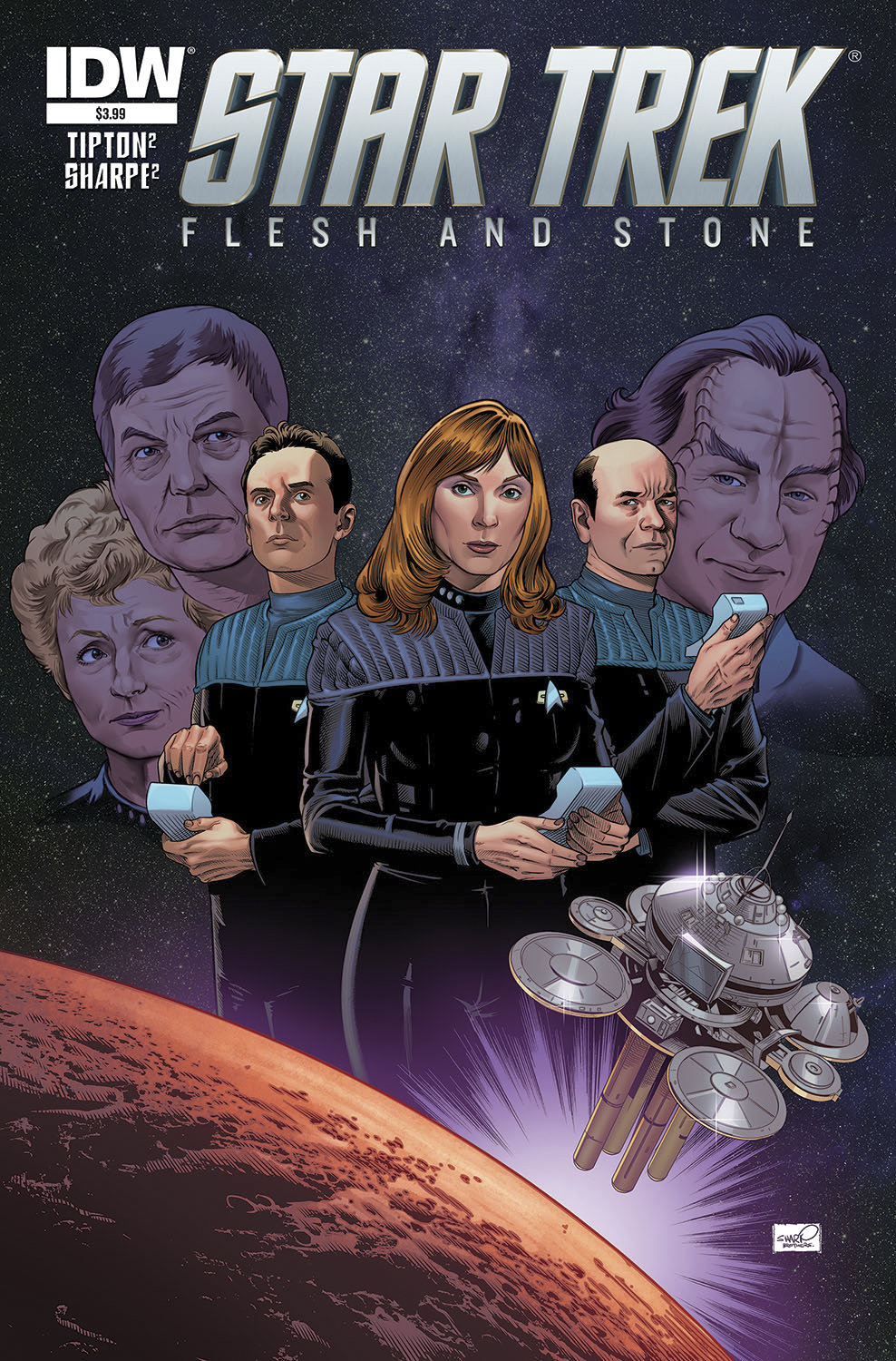 STAR TREK SPECIAL FLESH & STONE #1