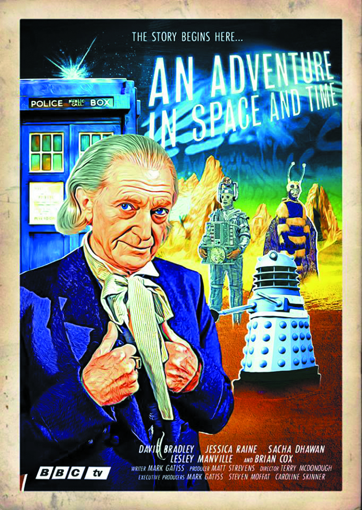 DOCTOR WHO AN ADVENTURE IN SPACE & TIME BD + DVD