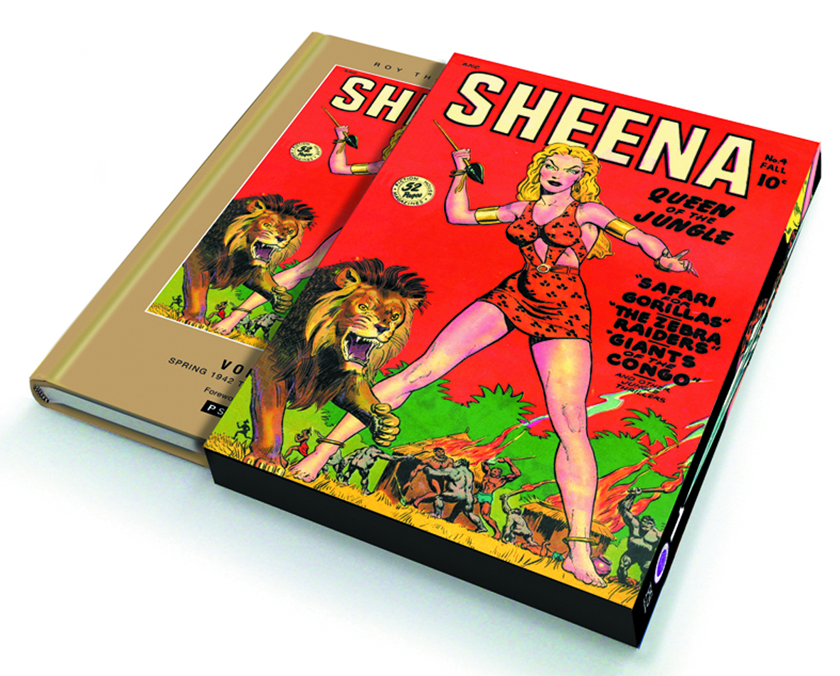 ROY THOMAS PRESENTS SHEENA QUEEN JUNGLE SLIPCASE ED VOL 01