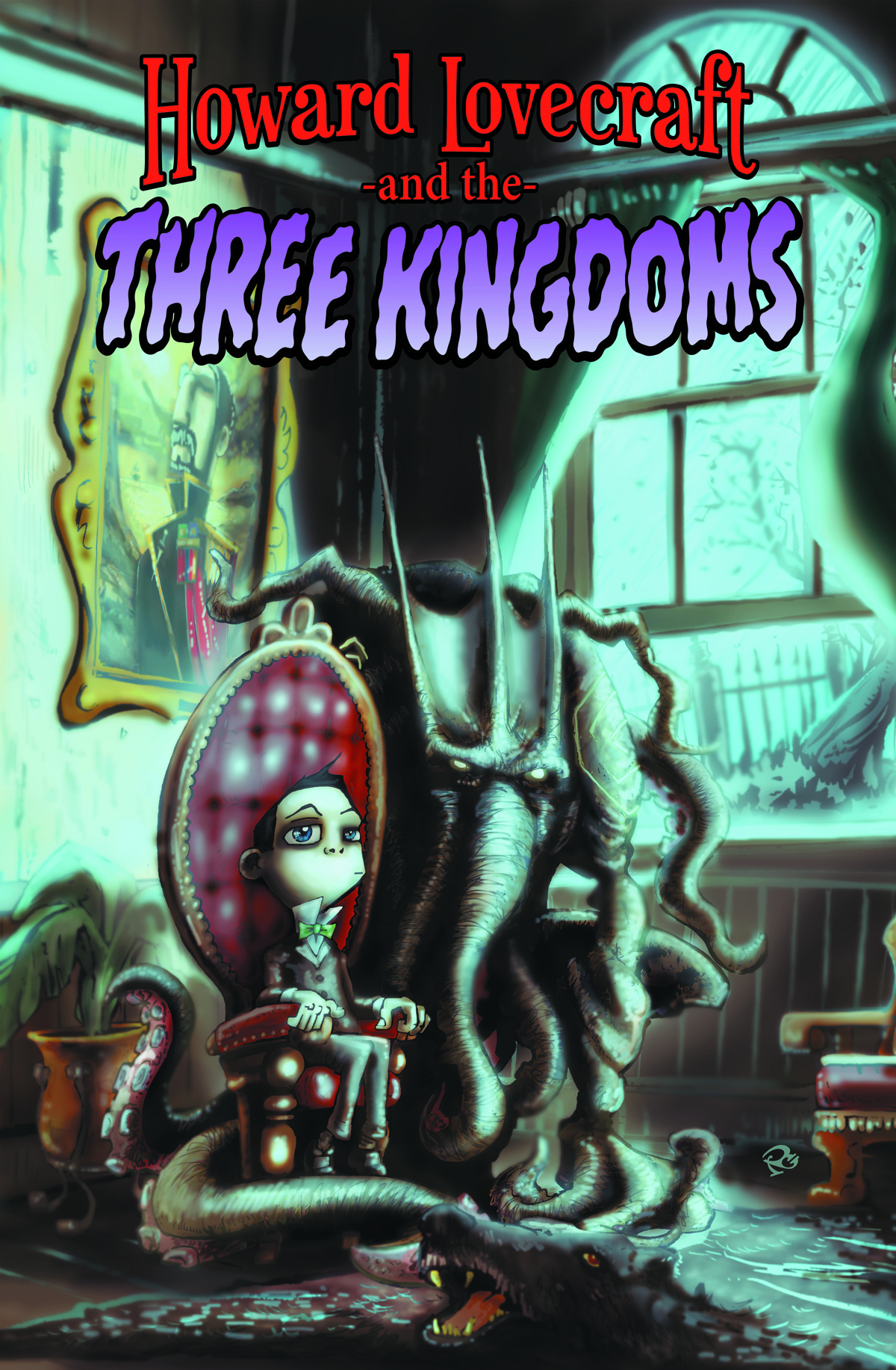 HOWARD LOVECRAFT & THREE KINGDOMS HC