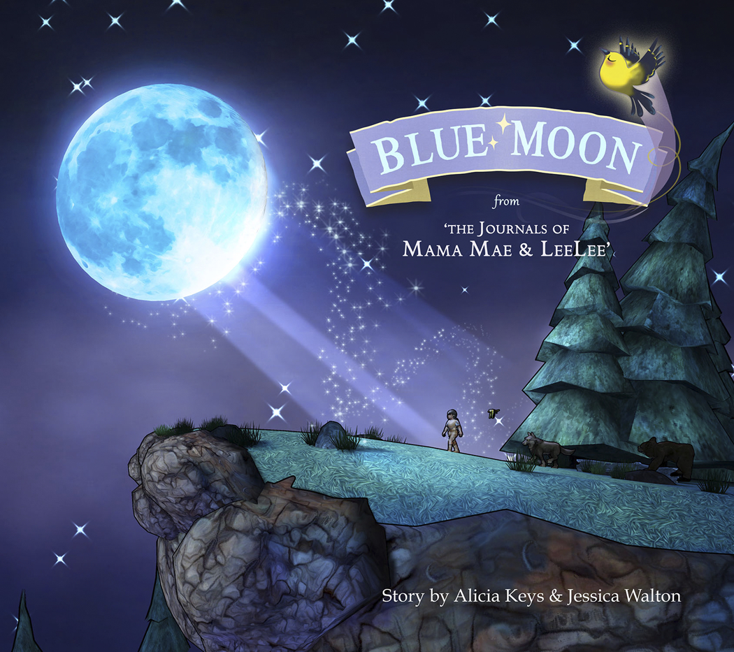 BLUE MOON FROM JOURNALS OF MAMA MAE AND LEELEE HC