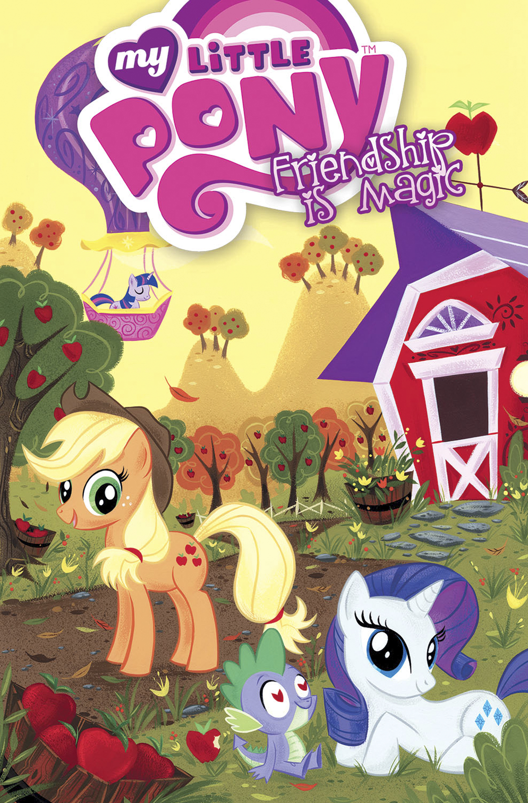 MY LITTLE PONY FRIENDSHIP IS MAGIC HC VOL 01