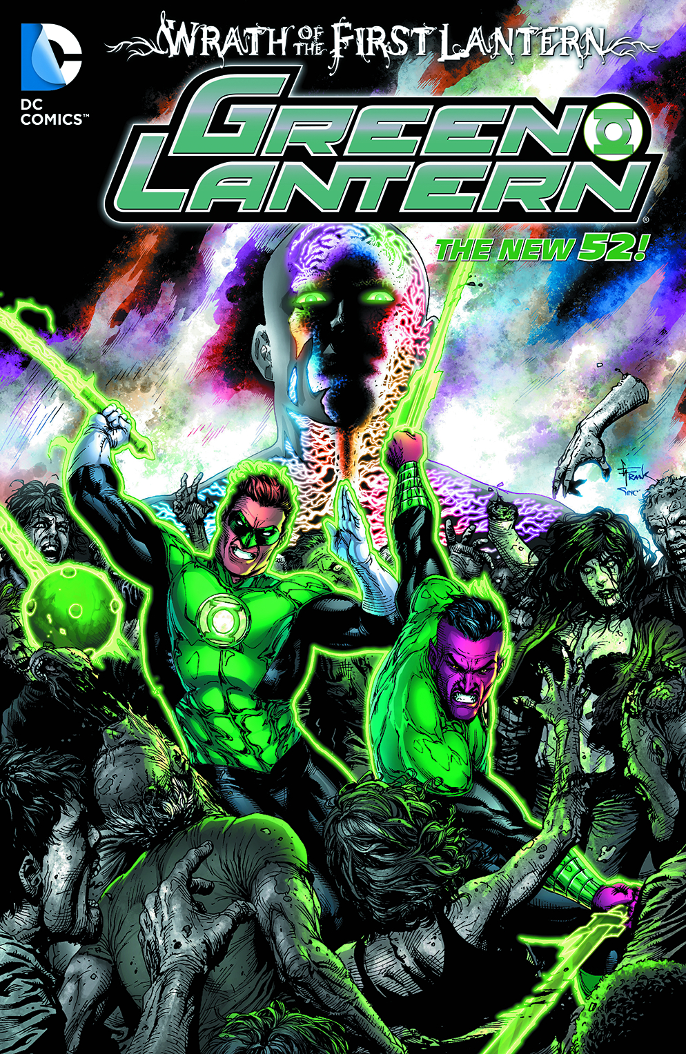 GREEN LANTERN WRATH OF THE FIRST LANTERN TP