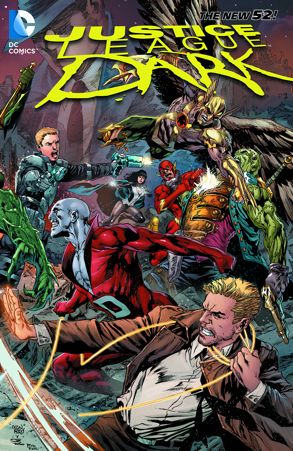 JUSTICE LEAGUE DARK TP VOL 04 THE REBIRTH OF EVIL
