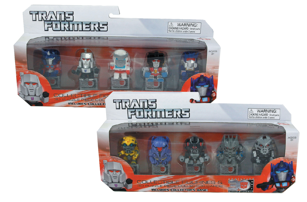 TRANSFORMERS 30TH MINIFIG 5-PACK ASST