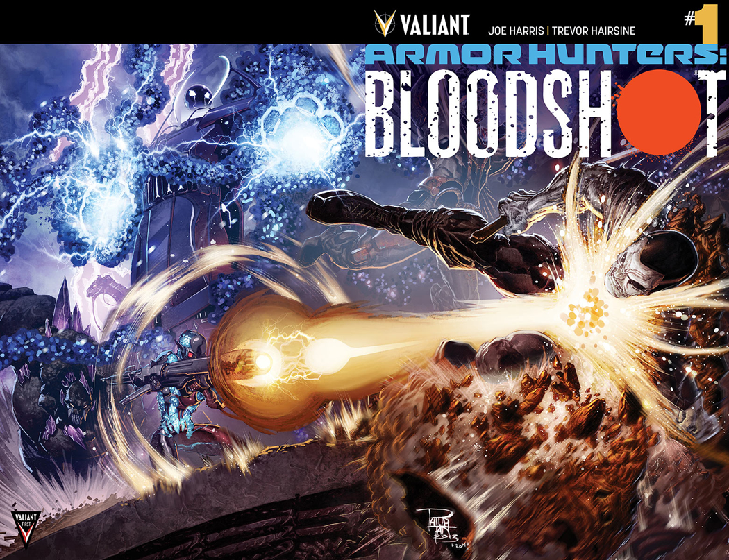 ARMOR HUNTERS BLOODSHOT #1 (OF 3) CVR B CHROM