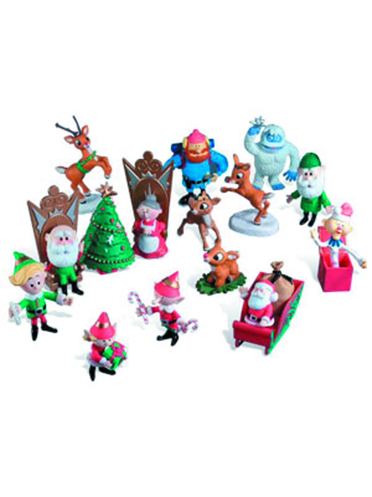 RUDOLPH 2014 ULTIMATE FIGURINE COLLECTION