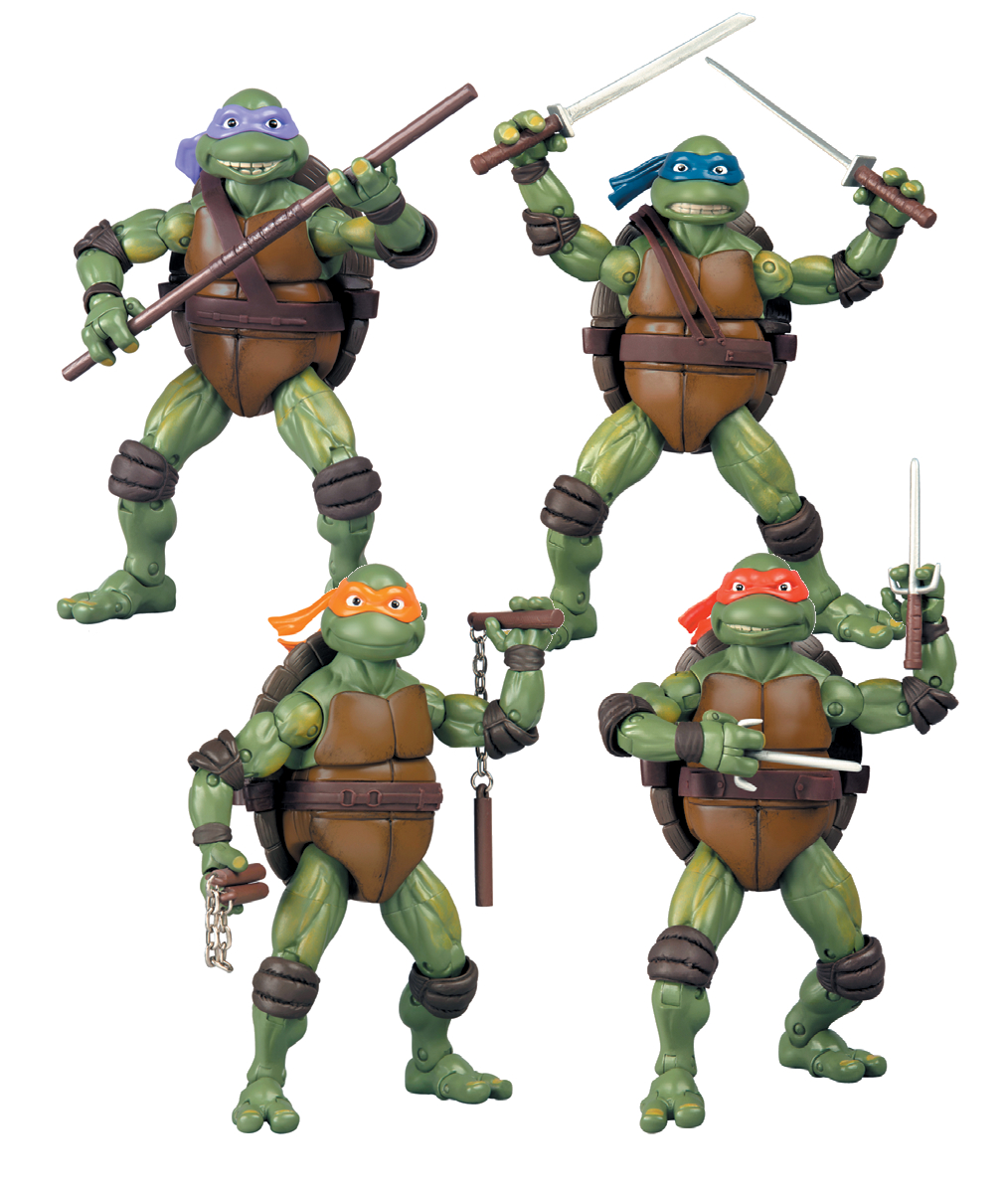 TMNT CLASSIC COLLECTOR AF 2014 ASST