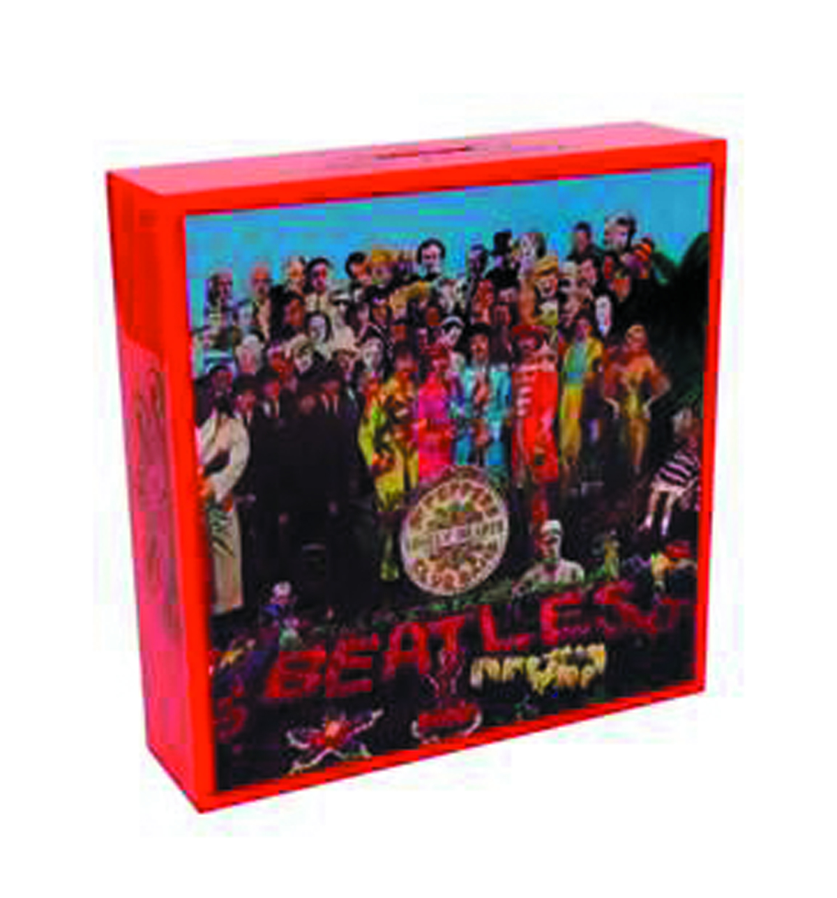 BEATLES FAMOUS COVERS SGT PEPPER COIN BANK