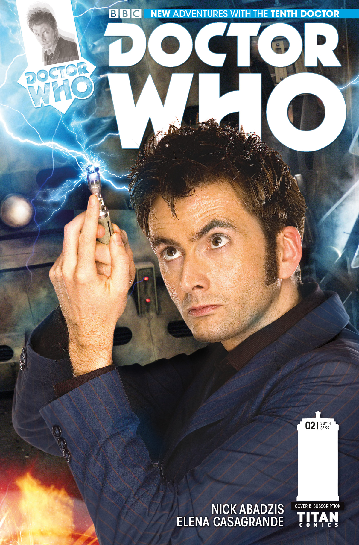 DOCTOR WHO 10TH #2 SUBSCRIPTION PHOTO