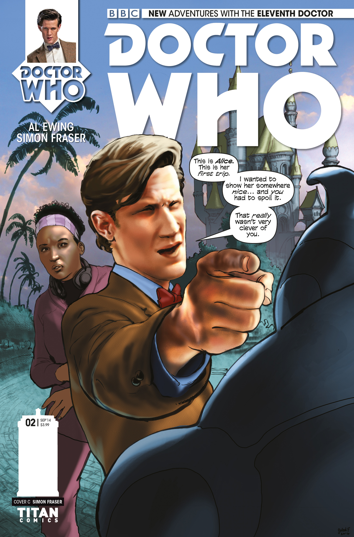 DOCTOR WHO 11TH #2 10 COPY INCV FRASER