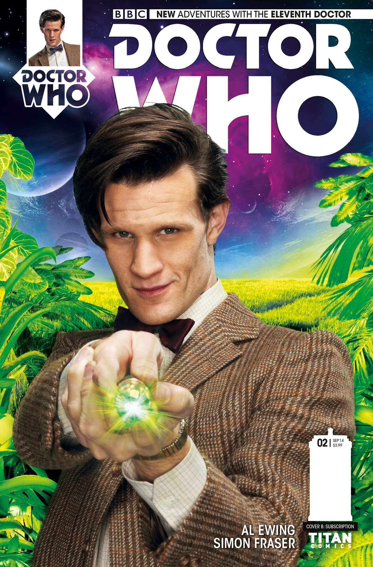DOCTOR WHO 11TH #2 SUBSCRIPTION PHOTO