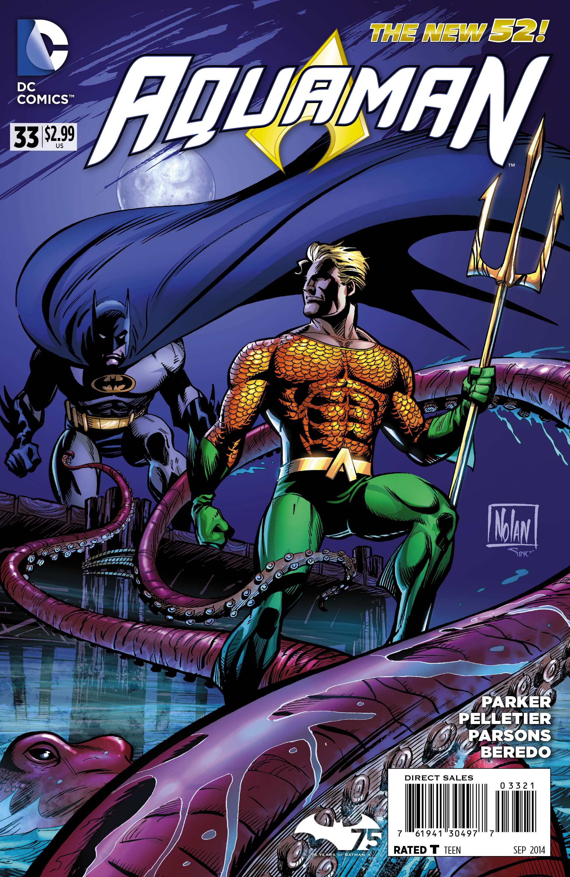 AQUAMAN #33 BATMAN 75 VAR ED