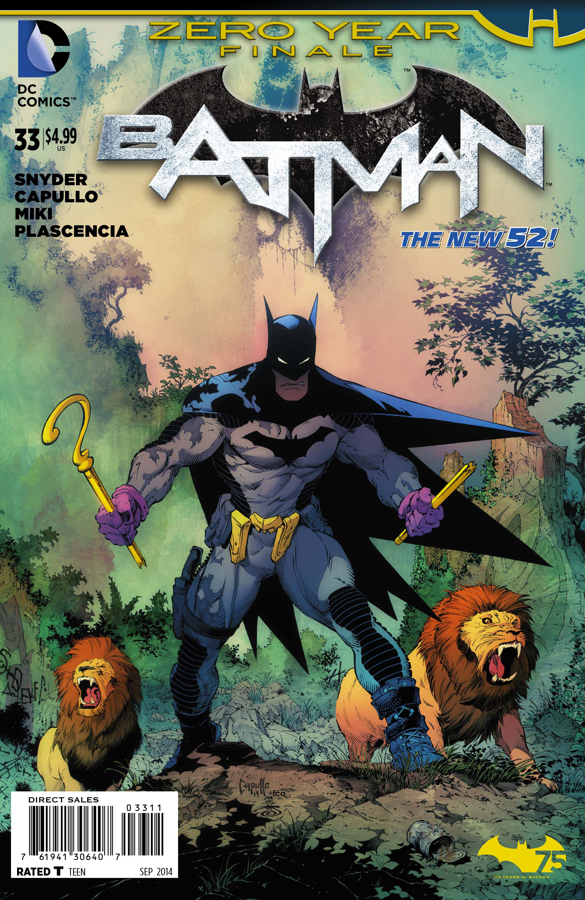 BATMAN #33 (ZERO YEAR)
