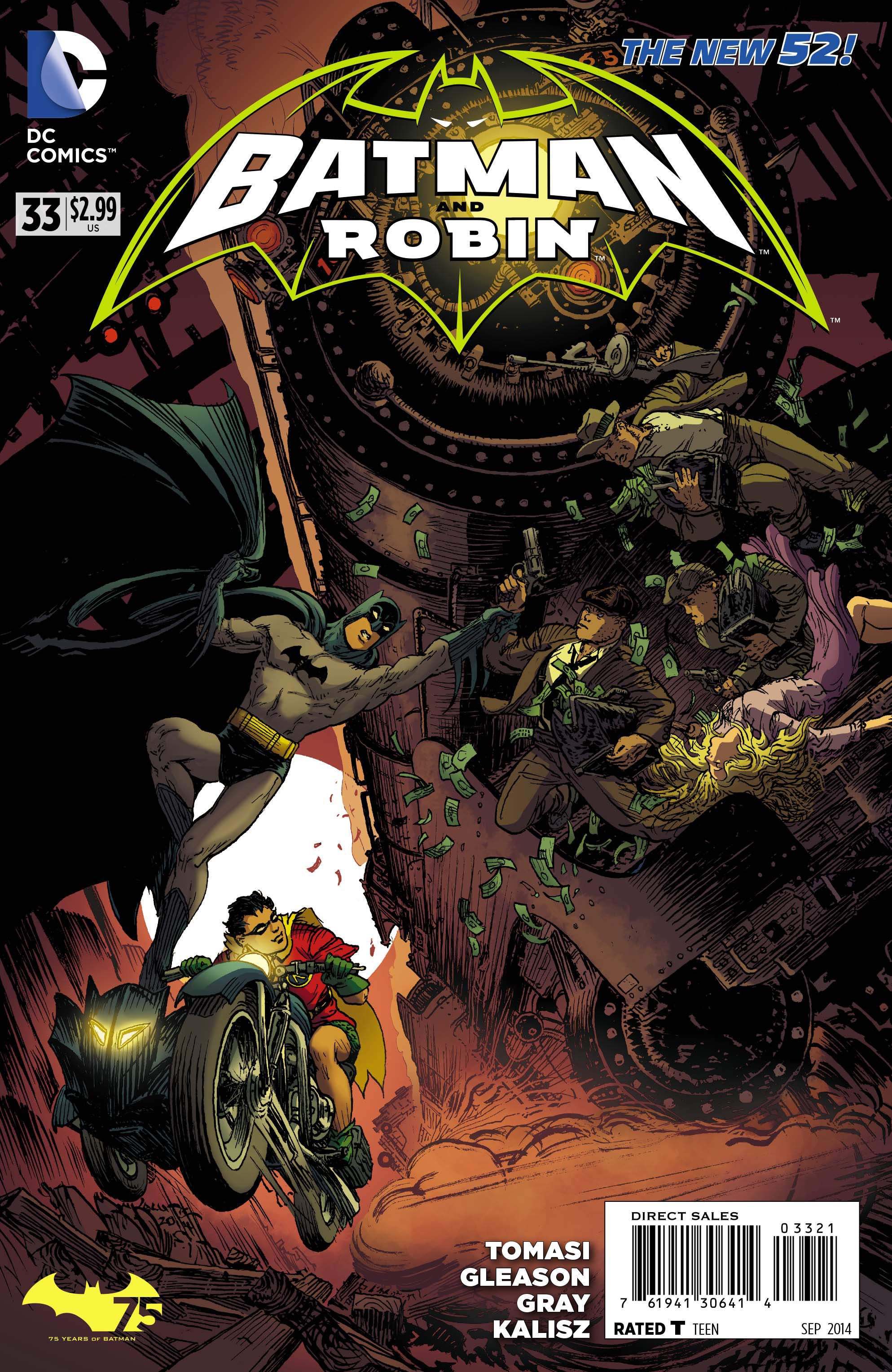 BATMAN AND ROBIN #33 BATMAN 75 VAR ED