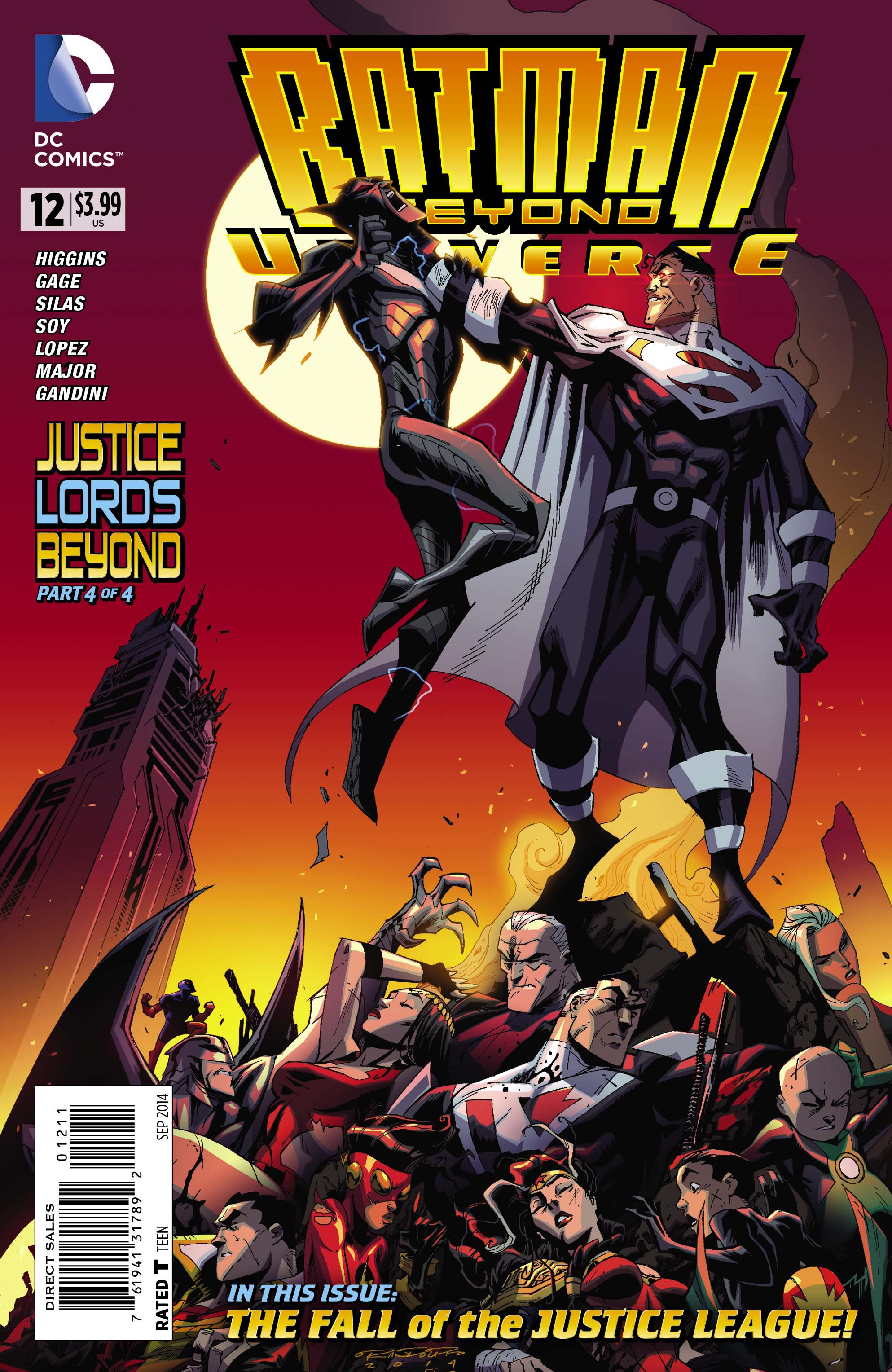 BATMAN BEYOND UNIVERSE #12