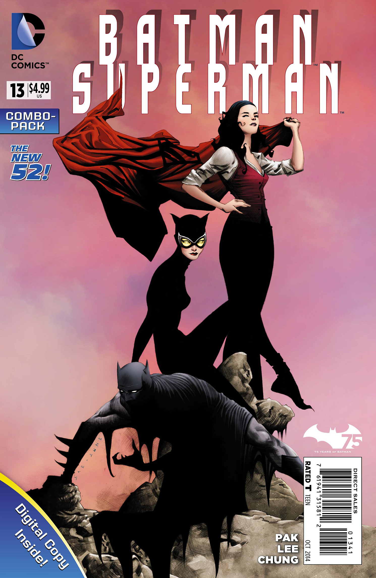 BATMAN SUPERMAN #13 COMBO PACK