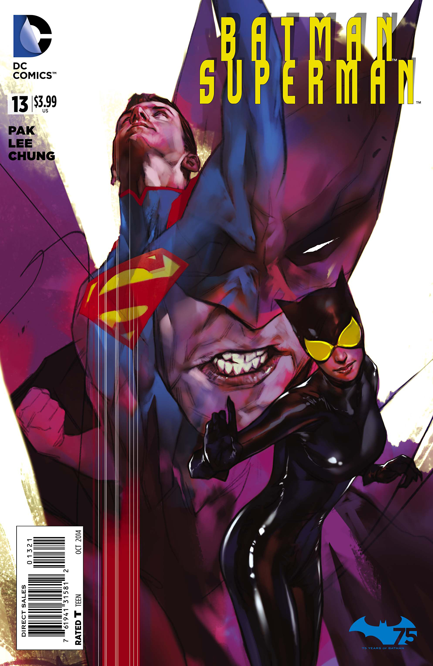 BATMAN SUPERMAN #13 VAR ED