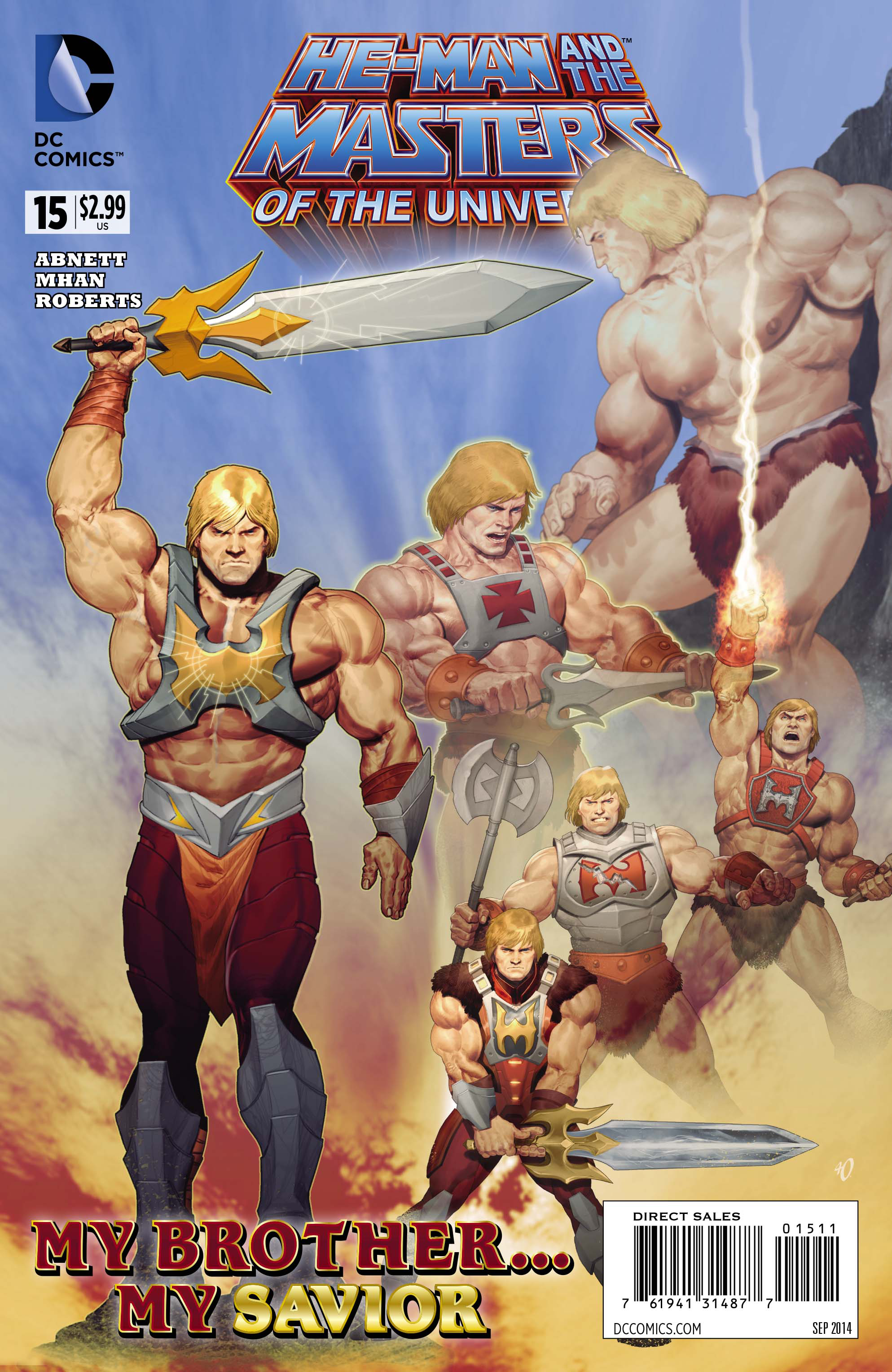 HE MAN AND THE MASTERS OF THE UNIVERSE #15