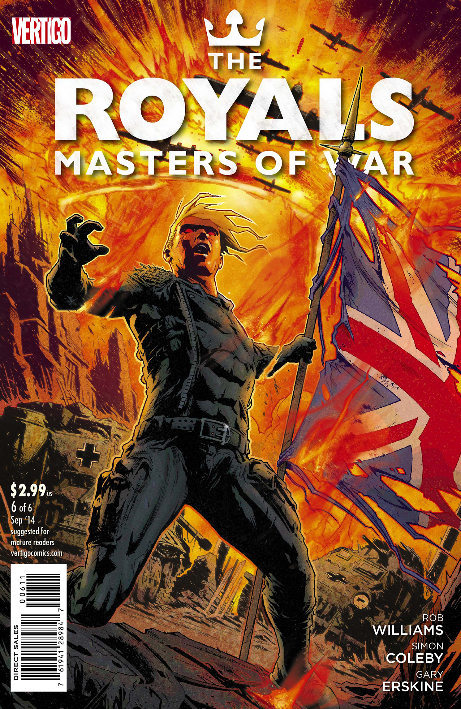 ROYALS MASTERS OF WAR #6 (OF 6)