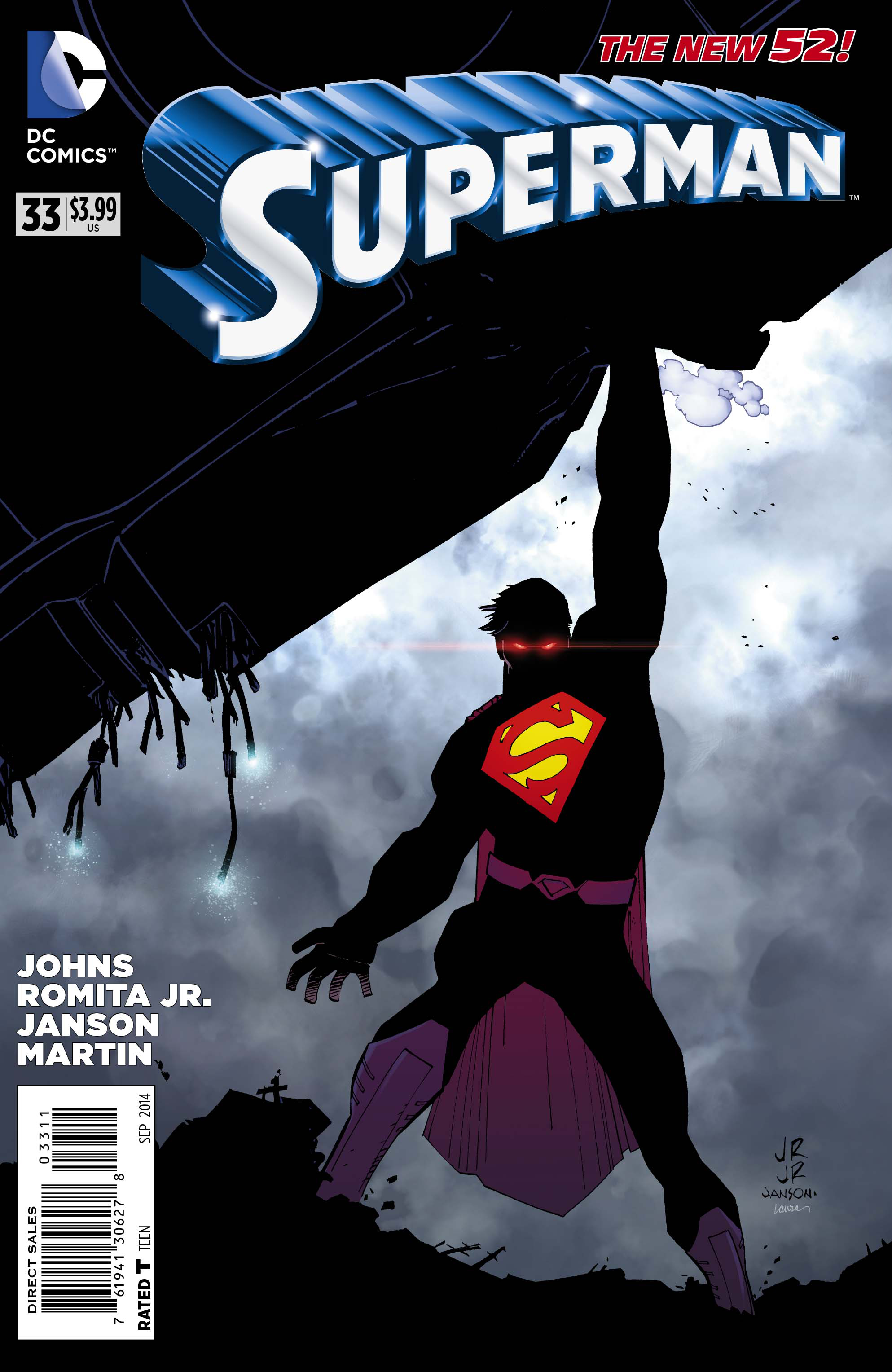 SUPERMAN #33 VAR ED