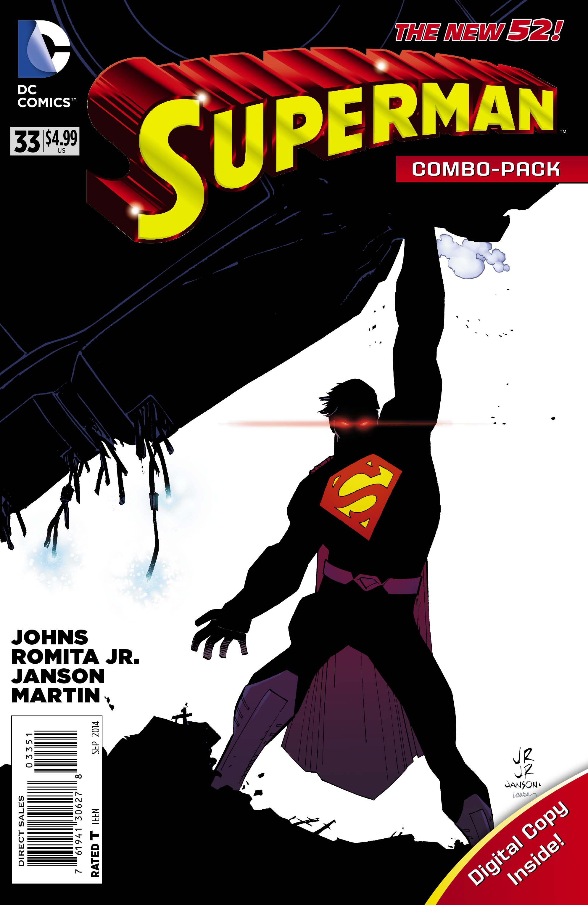SUPERMAN #33 COMBO PACK
