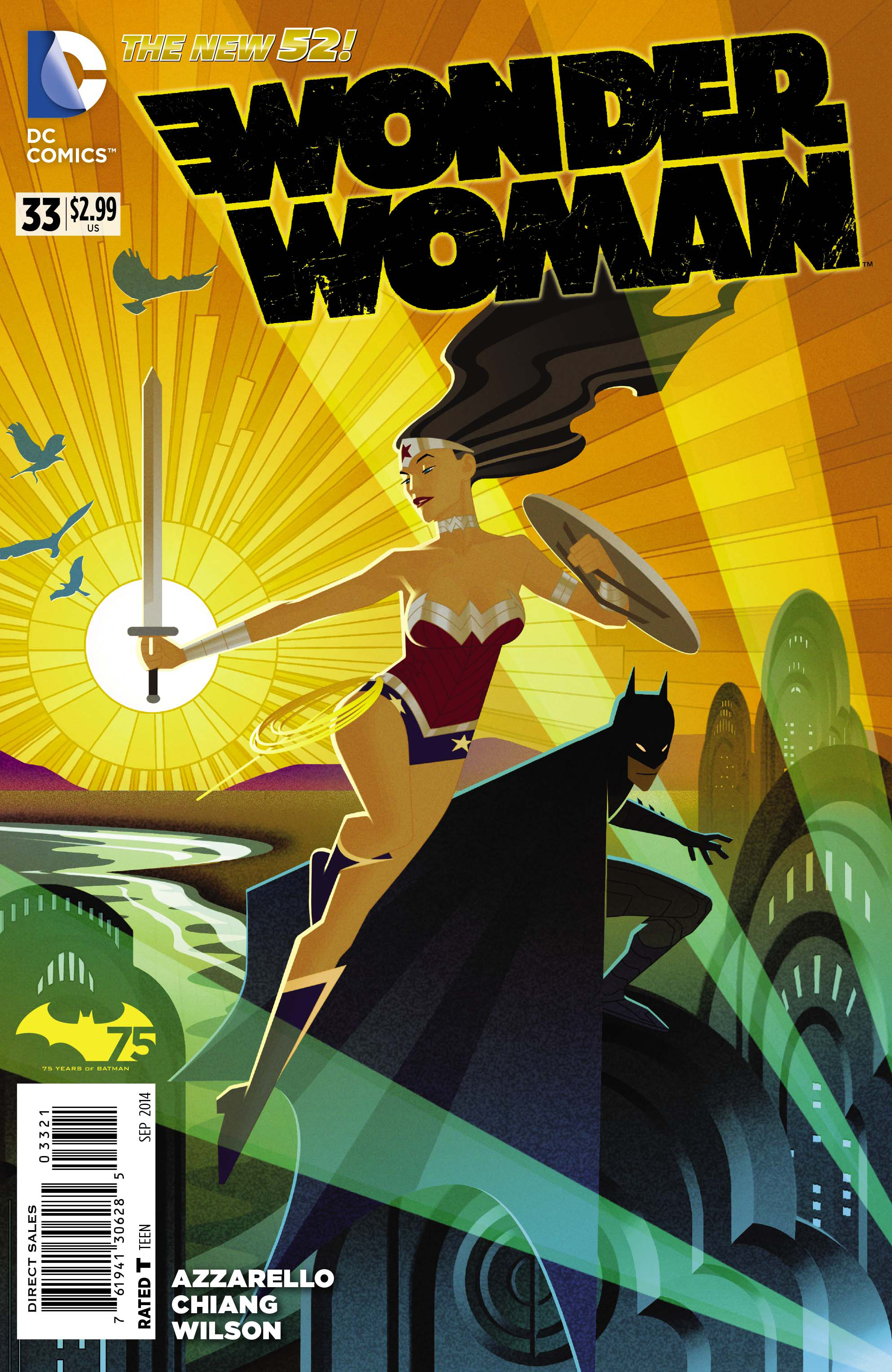 WONDER WOMAN #33 BATMAN 75 VAR ED