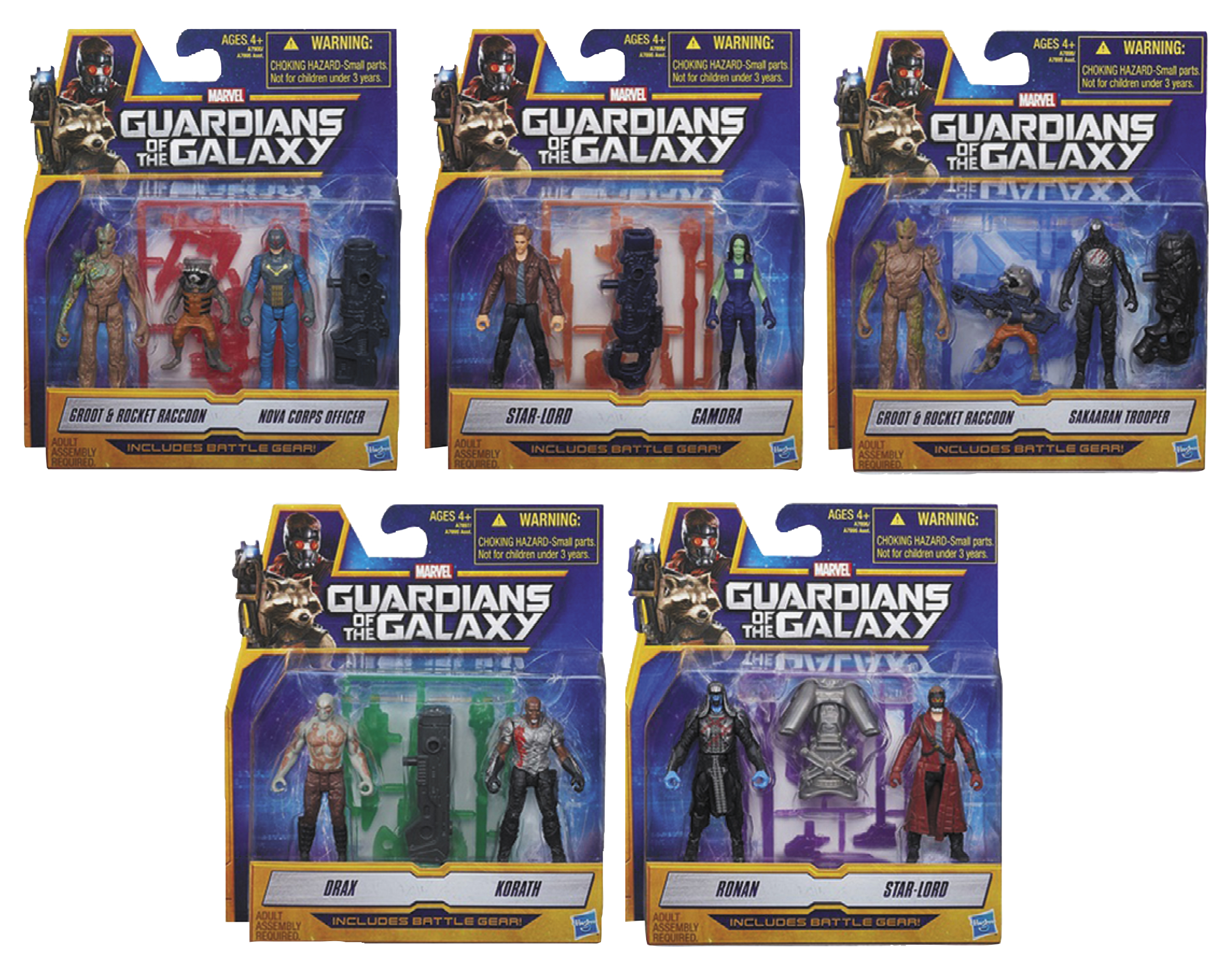 MAY142327 - GUARDIANS O/T GALAXY AF 2-PACK ASST 201401