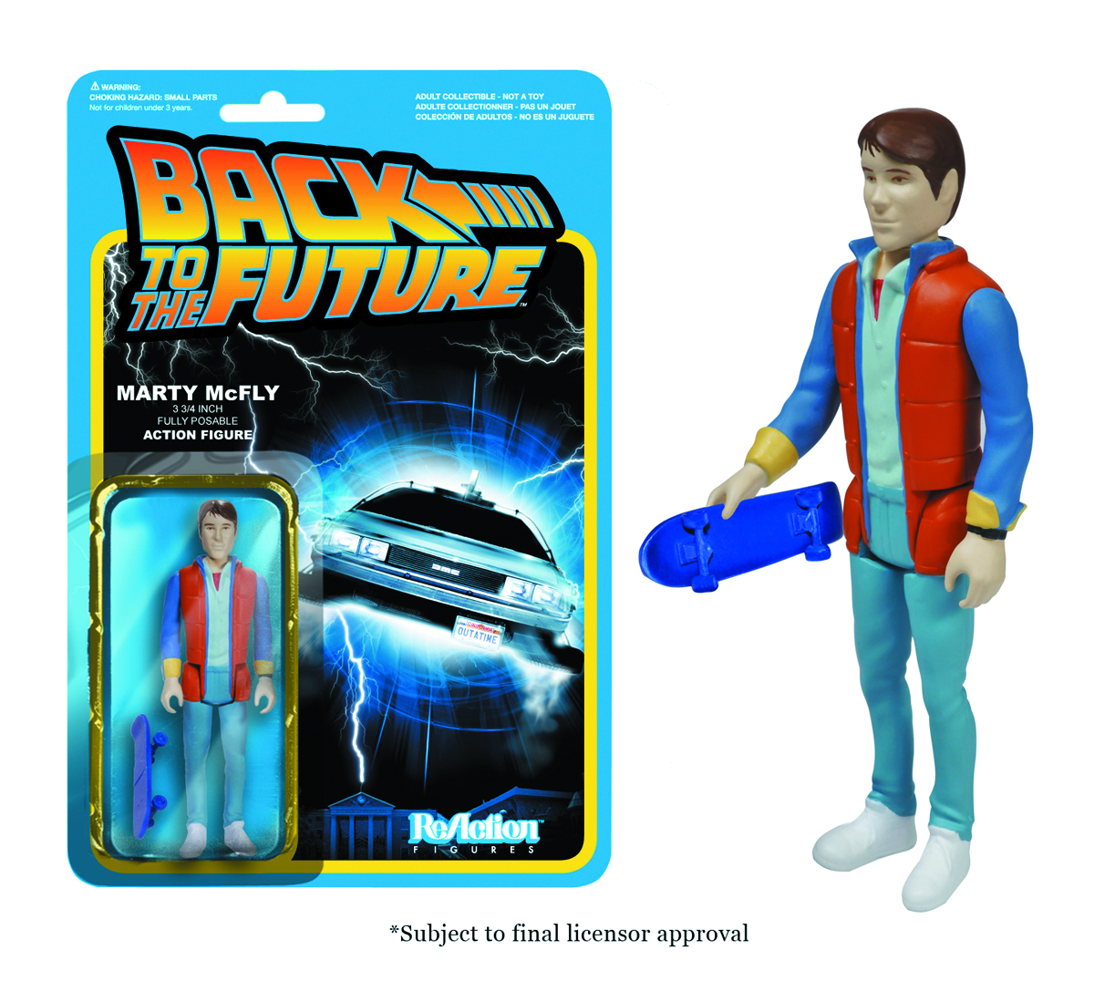 REACTION BTTF MARTY MCFLY FIG