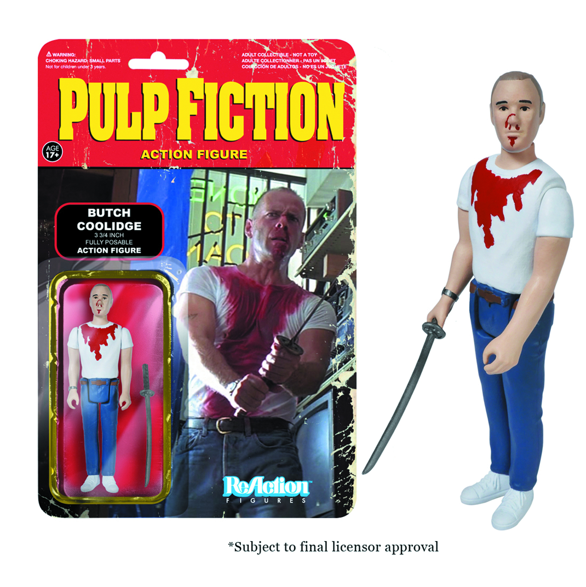 REACTION PULP FICTION BUTCH FIG