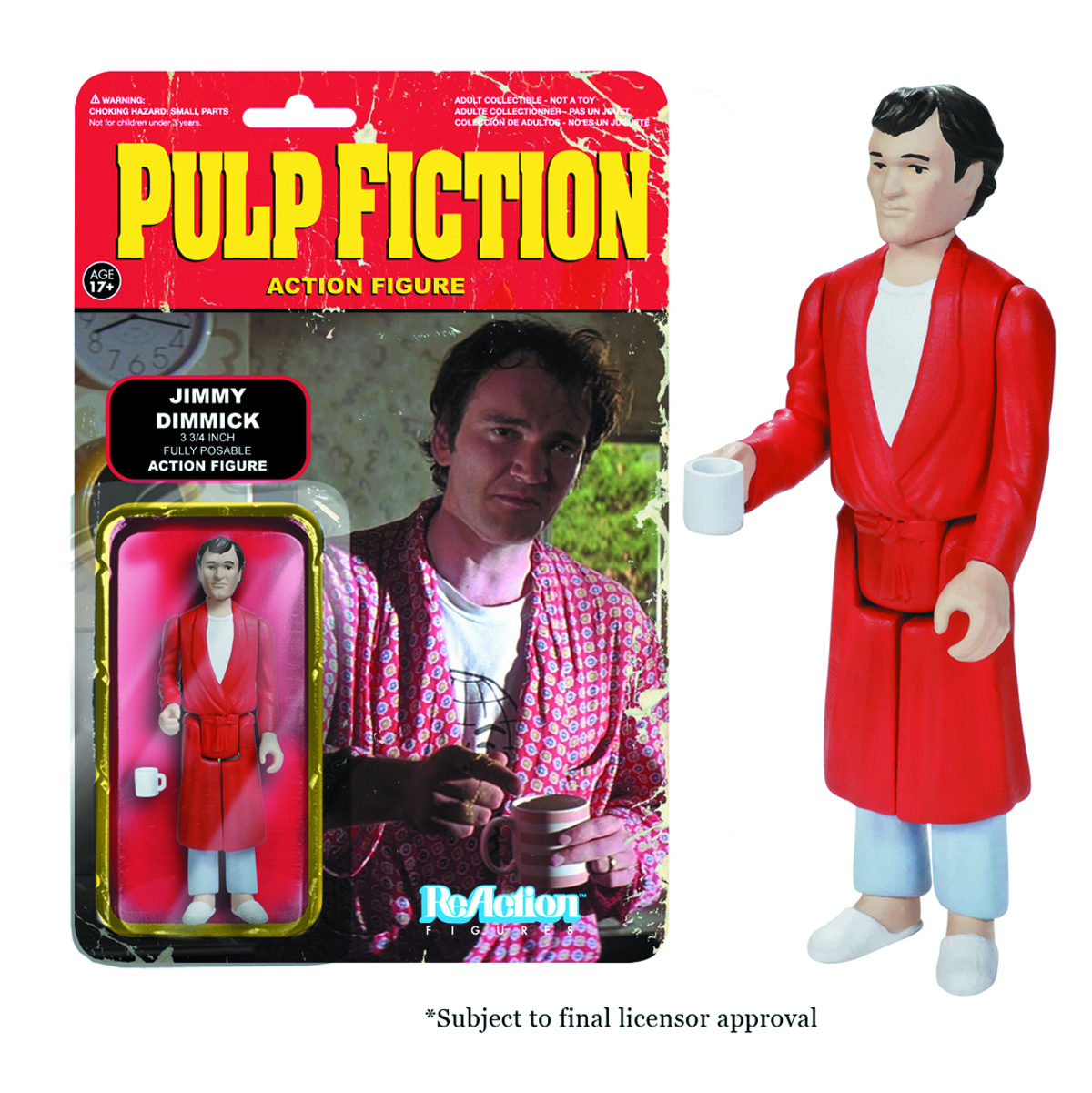 REACTION PULP FICTION JIMMY FIG