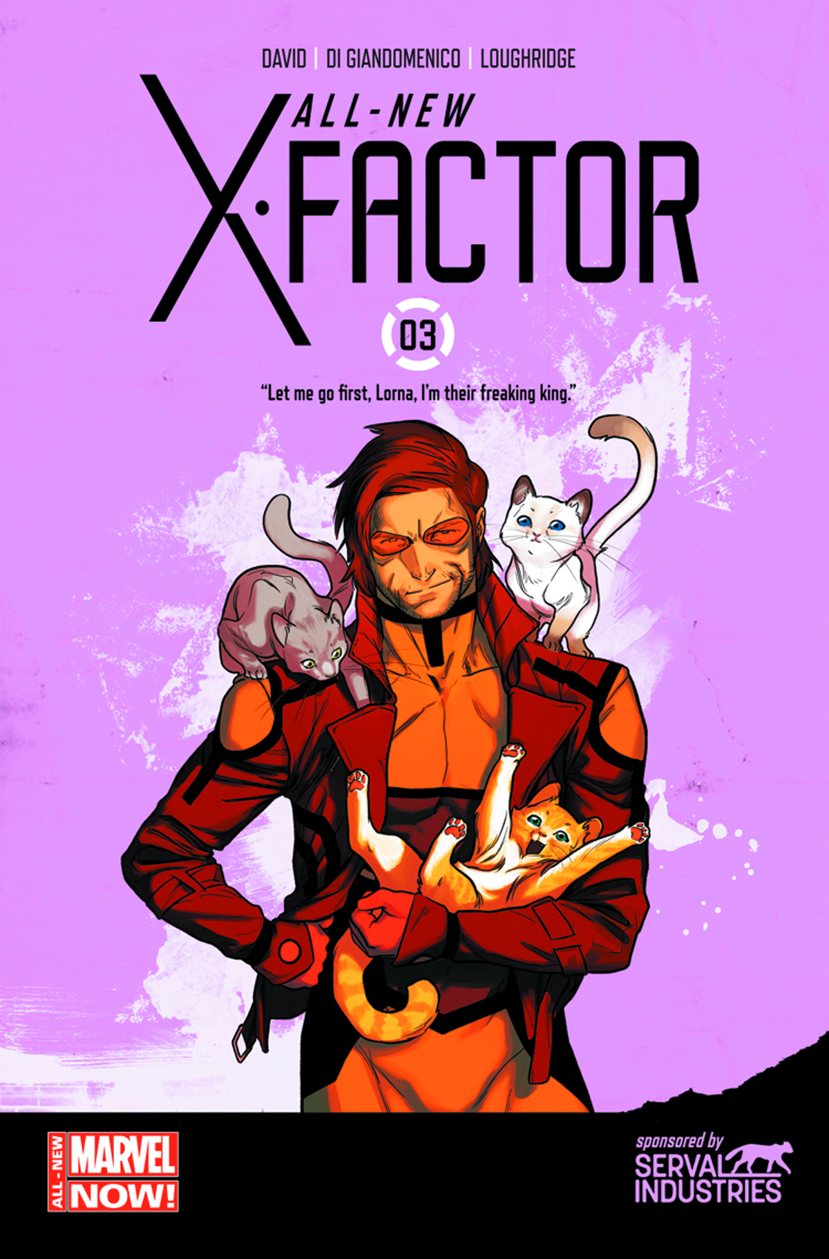 ALL NEW X-FACTOR #3 2ND PTG ANKA VAR ANMN
