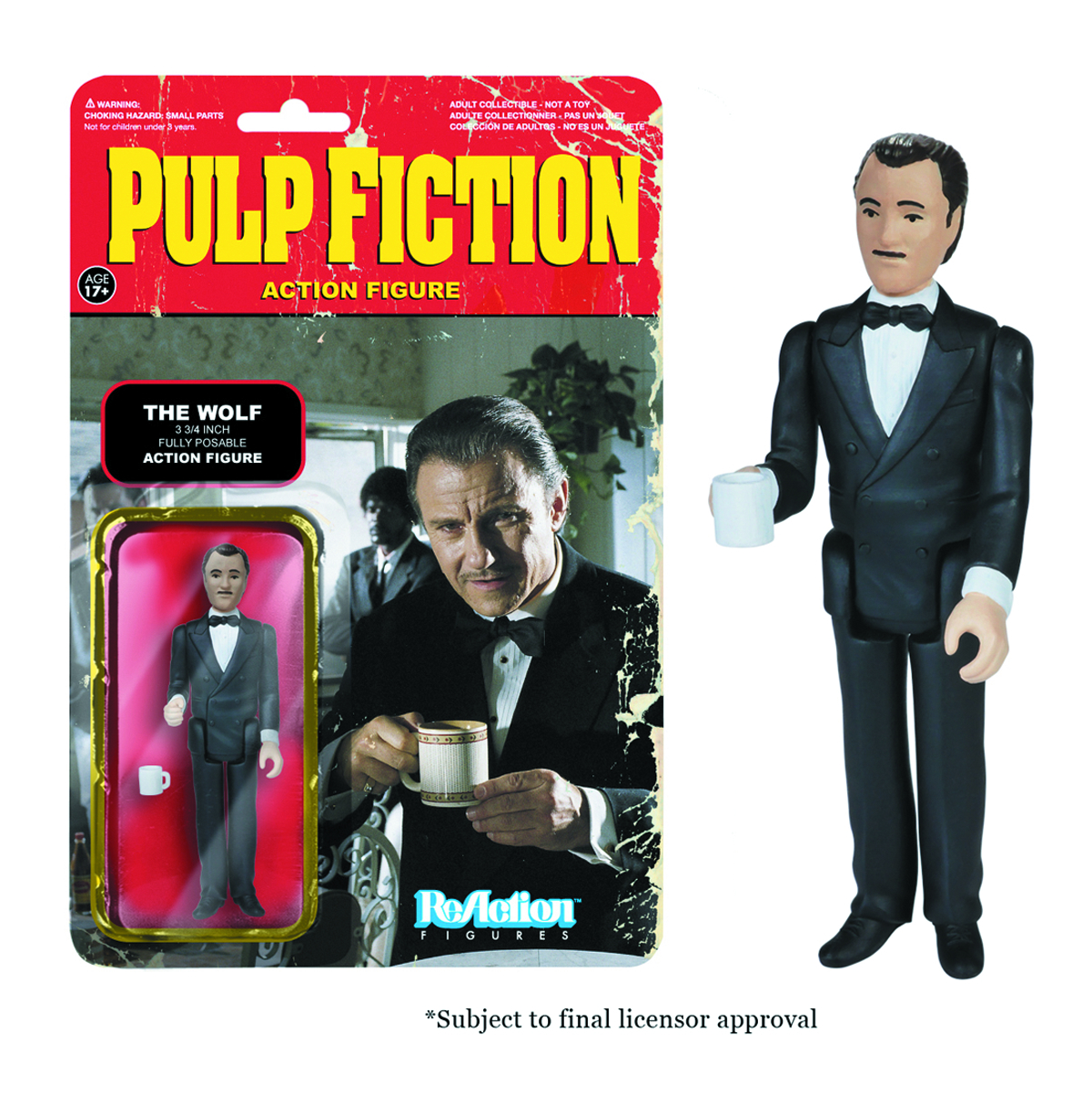 REACTION PULP FICTION THE WOLF FIG