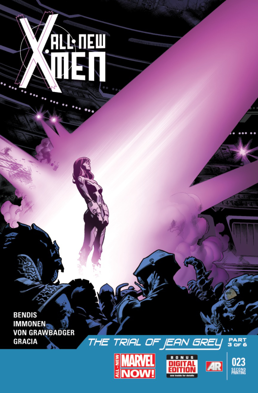ALL NEW X-MEN #23 2ND PTG KEOWN VAR ANMN