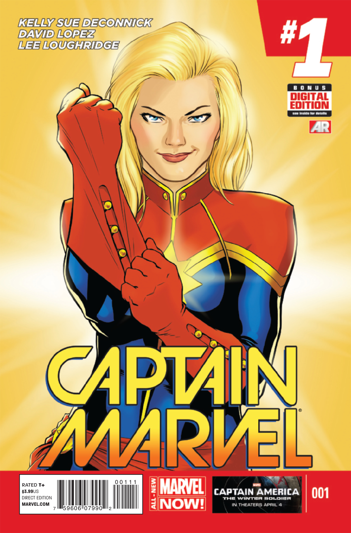 CAPTAIN MARVEL #1 (OF 6) 2ND PTG LOPEZ VAR ANMN