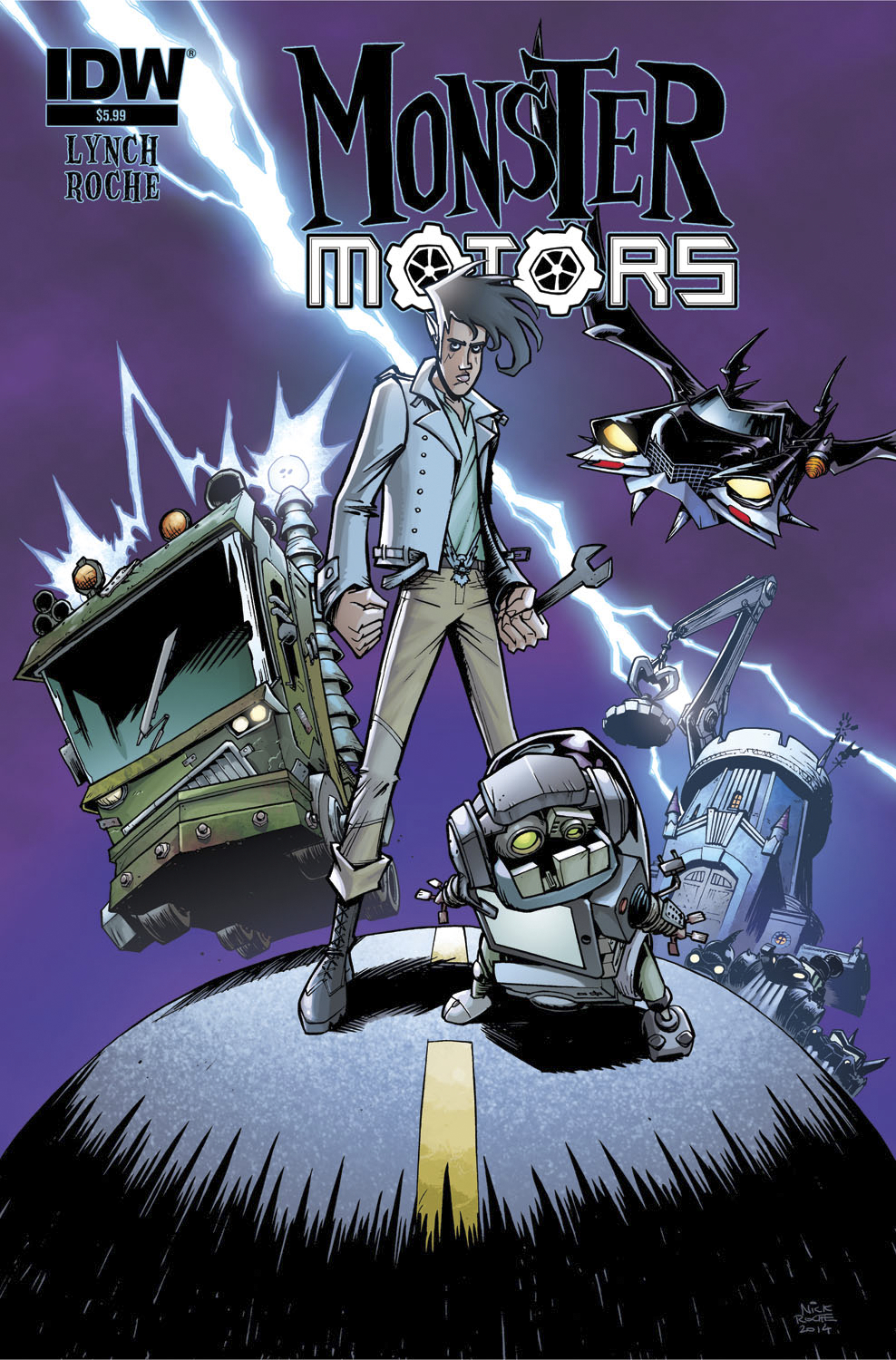 MONSTER MOTORS ONE SHOT