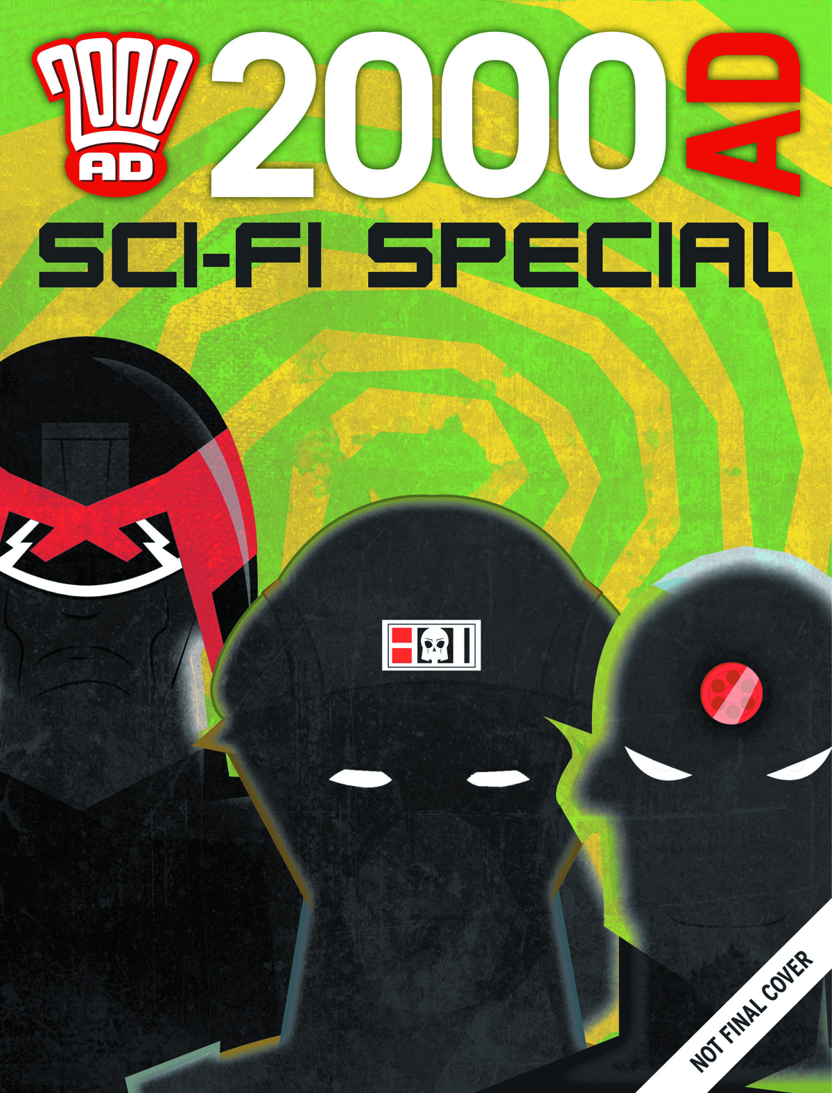 2000 AD SUMMER SCI-FI SPECIAL 2014