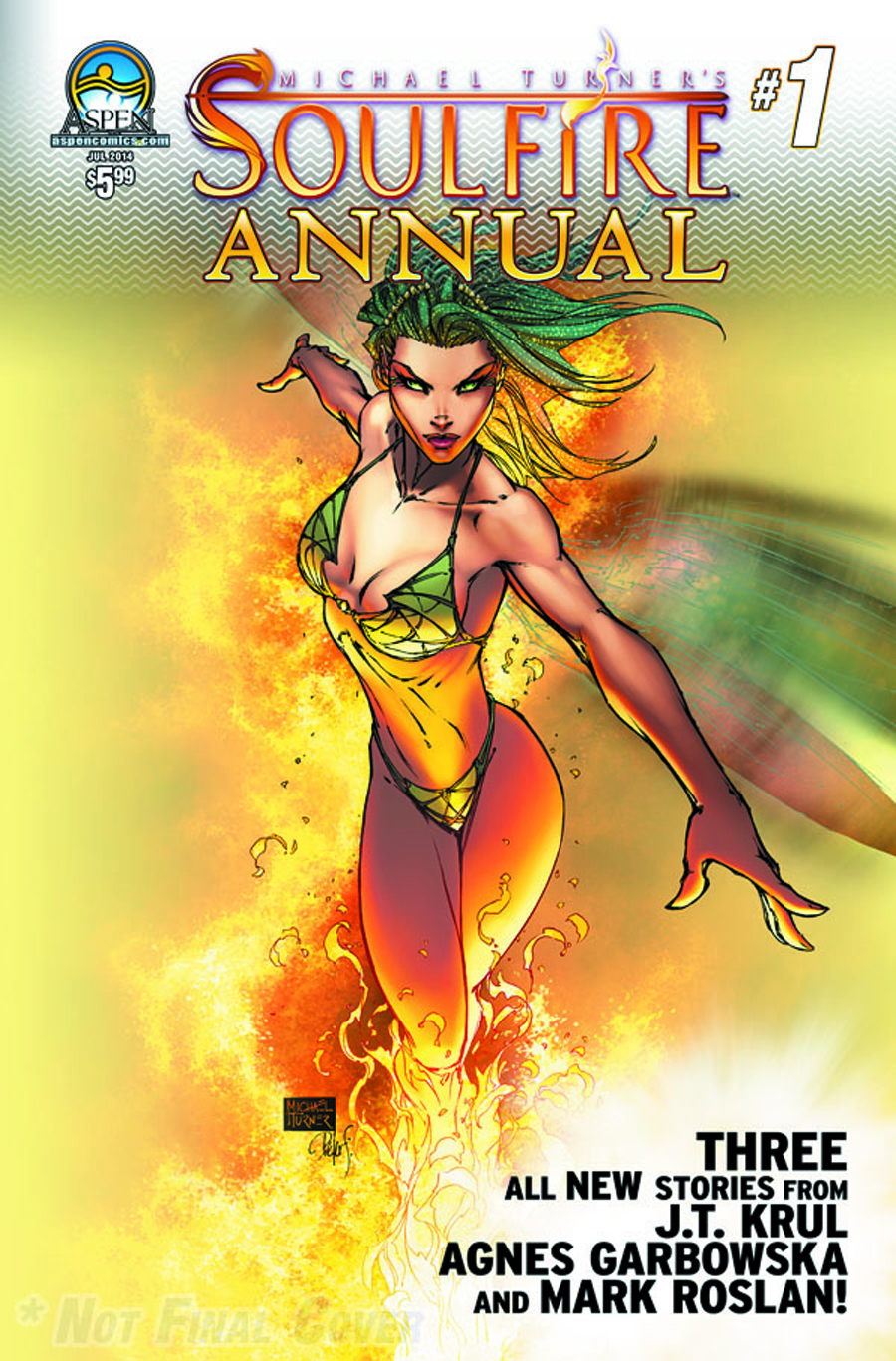 SOULFIRE ANNUAL #1 DIRECT MARKET CVR A