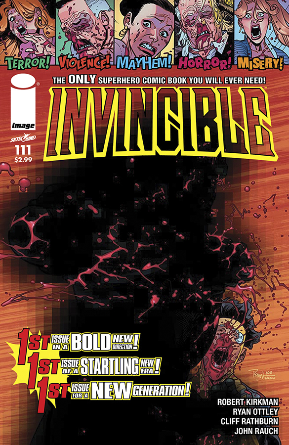 INVINCIBLE #111 CVR B OTTLEY PENCIL VAR