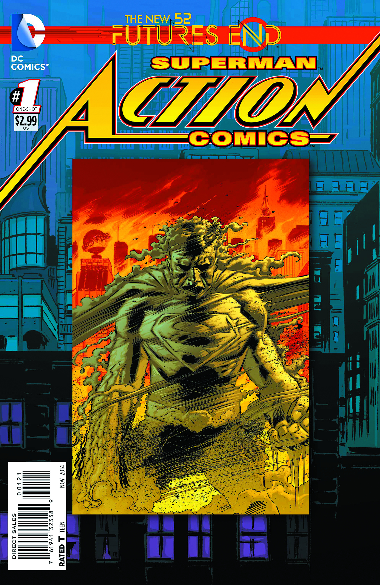 ACTION COMICS FUTURES END #1 STANDARD ED