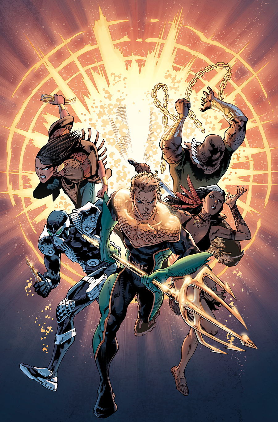 AQUAMAN AND THE OTHERS FUTURES END #1