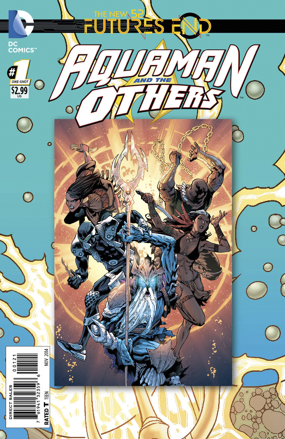 AQUAMAN AND THE OTHERS FUTURES END #1 STANDARD ED