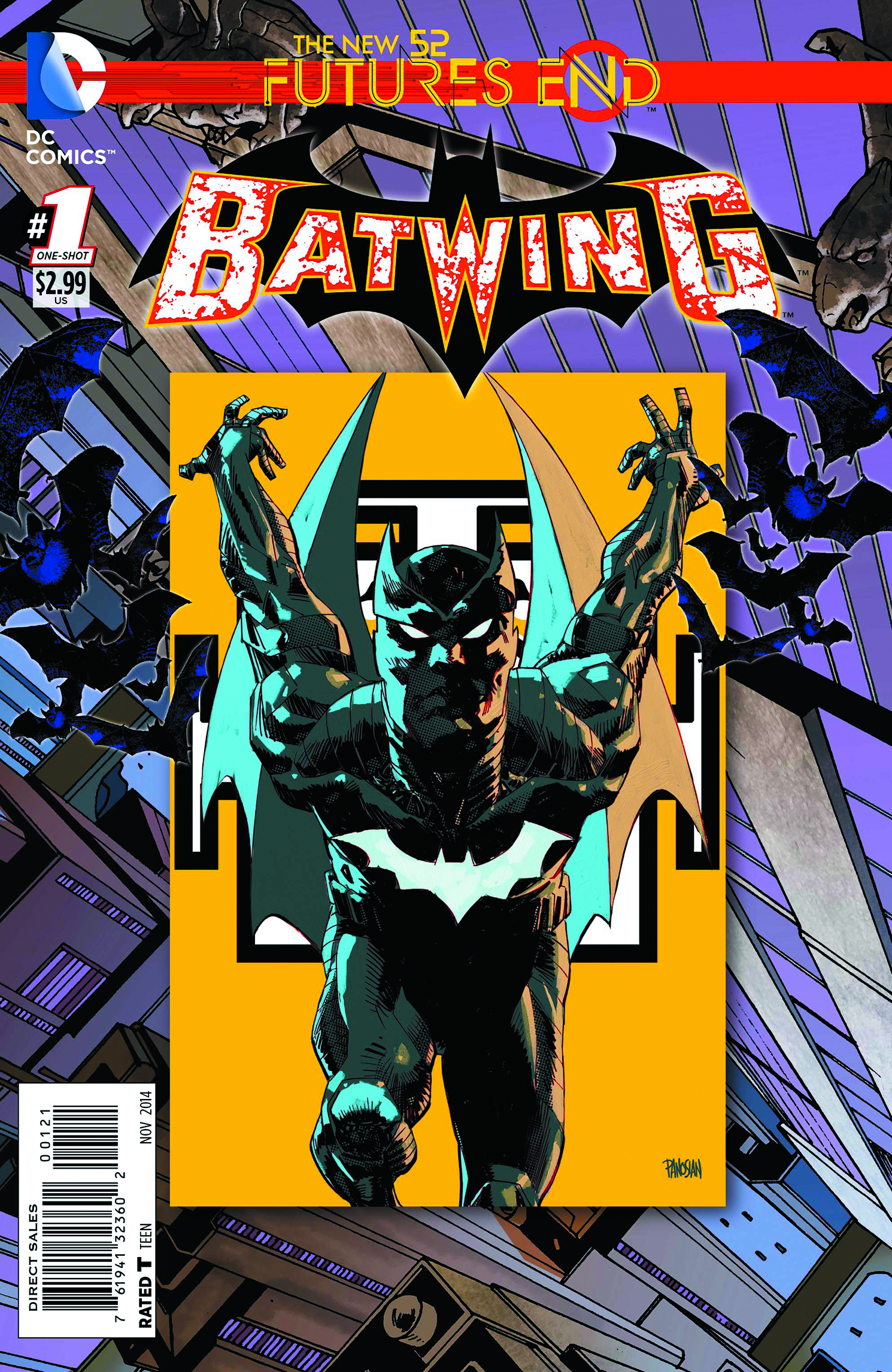 BATWING FUTURES END #1 STANDARD ED